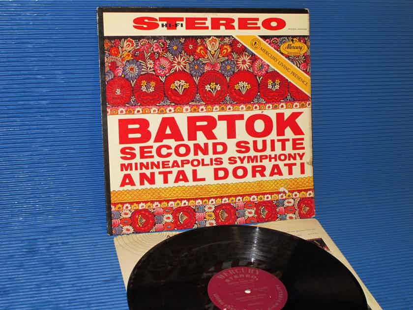 "BARTOK / Dorati  - ""2nd Suite"" -  Mercury Living Presence 1958 1st Pressing"