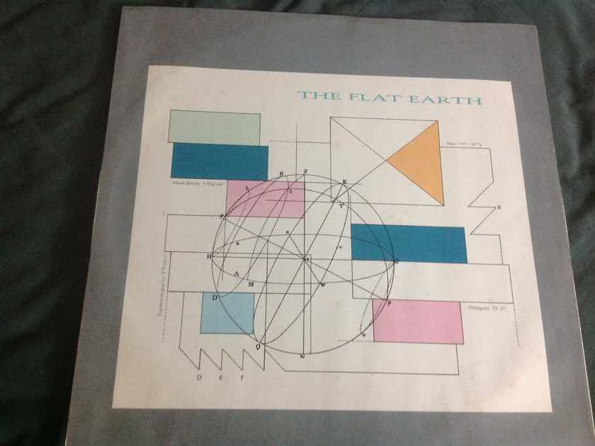 Thomas Dolby - The Flat Earth Deadwax Wally Etched