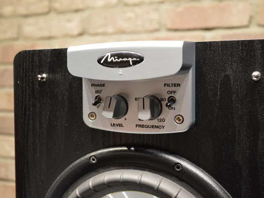 """Mirage Omni S-8 - 8"""", 100 / 400 Watt Amplifier"""