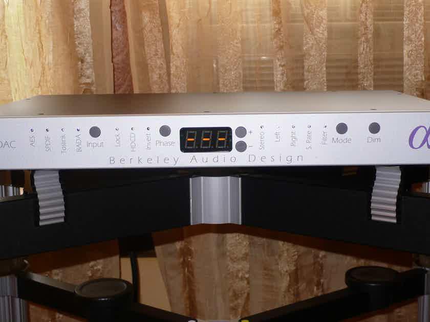 Berkeley Audio Design Alpha 1 Dac