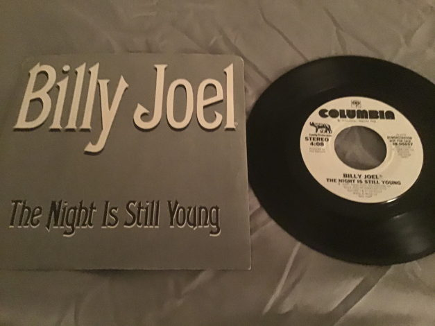 Billy Joel Promo 45 With Picture Sleeve Vinyl NM