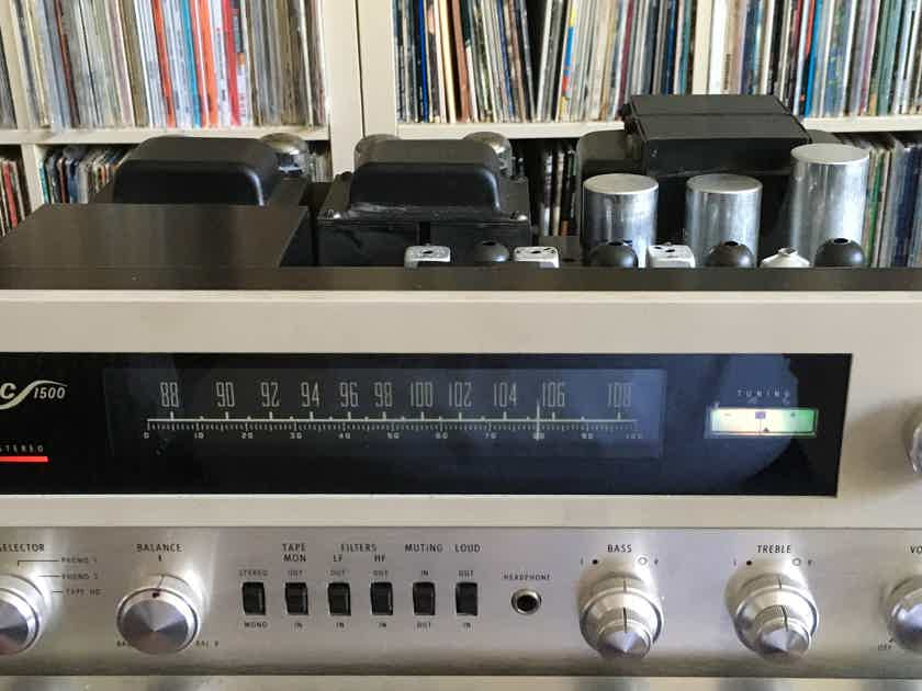 McIntosh 1500 Receiver  /  RESTORED  /  Free US Shipping