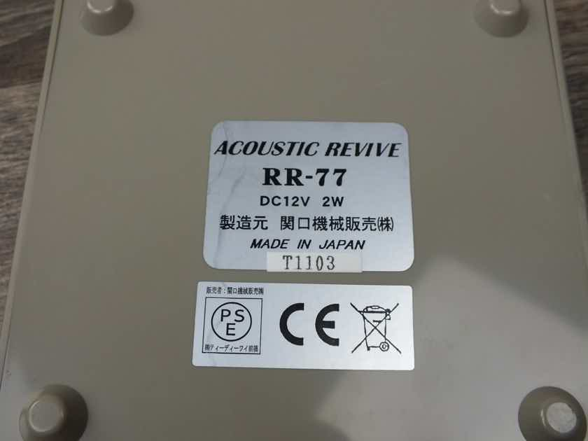 Acoustic Revive RR-77 Schumann Resonator Ultra-Low Frequency Pulse Generator