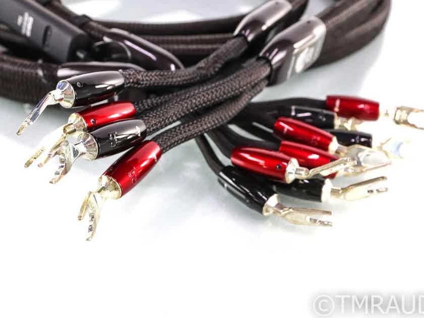 AudioQuest Oak Bi-Wire Speaker Cables; 3m Pair; 72v DBS (27826)