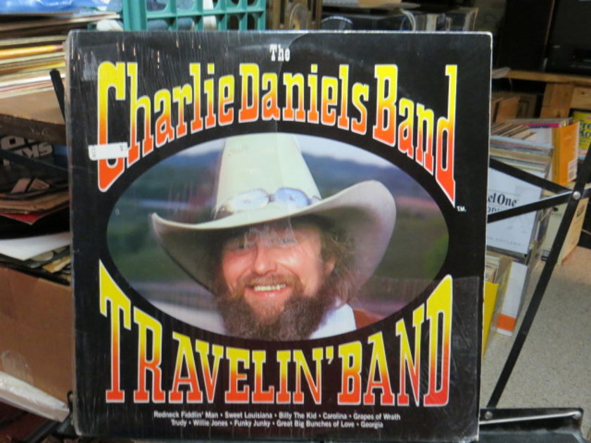Charlie Daniels Band - TRAVELIN' BAND SHRINK STILL ON COVER-MOSTLY