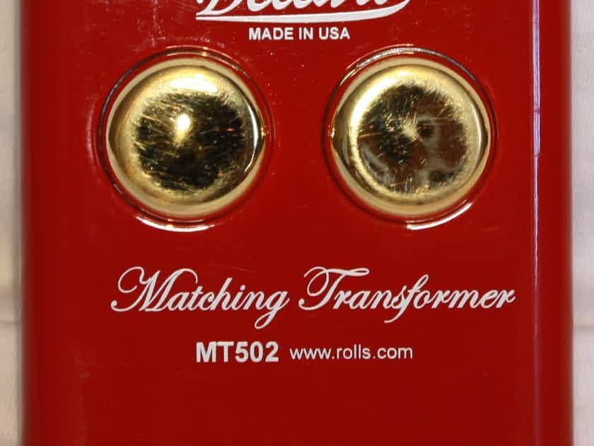 Bellari MT-502 MC Step-up Phono Transformer