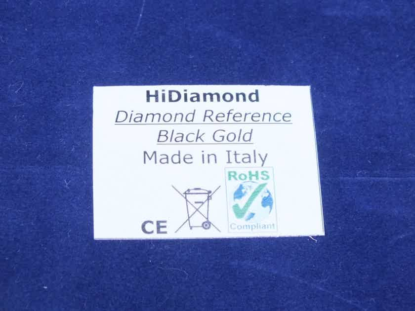 HiDiamond Diamond Reference Black Gold interconnects RCA 2,0 metre (2 pairs available)