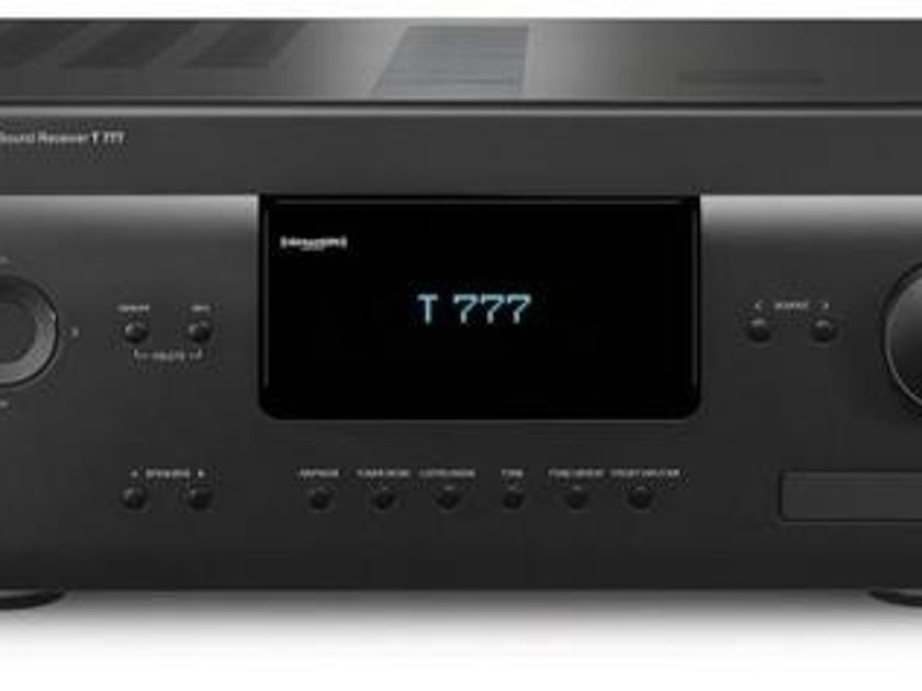 NAD T 777 / T777 AV Receiver with Warranty and Free 4K Video Module