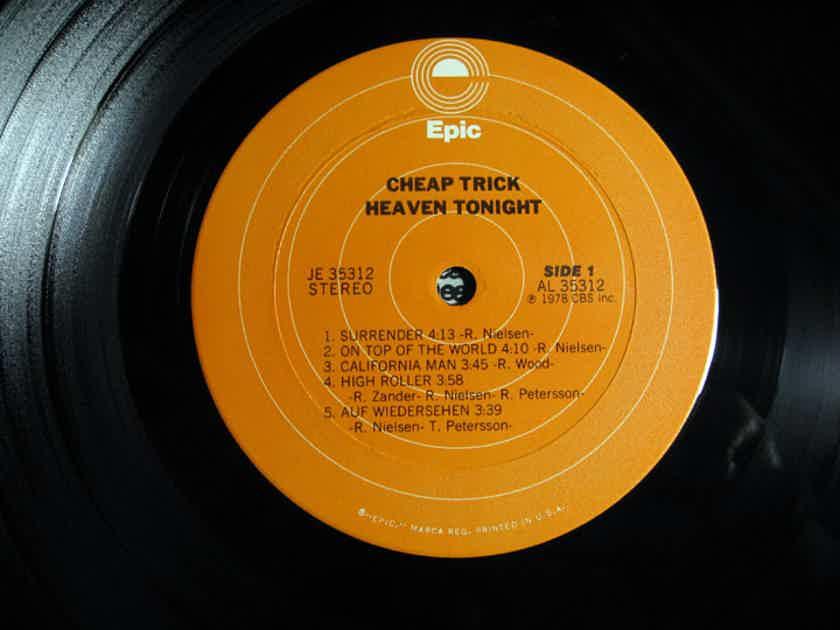 Cheap Trick - Heaven Tonight - First Press 1978 Epic JE 35312