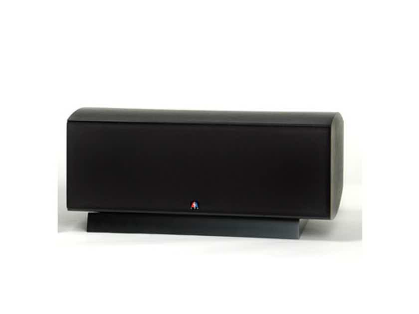 LSA LCR Center Channel / Surround Speaker Single; Black Ash w/ Base (New old stock) (12962)