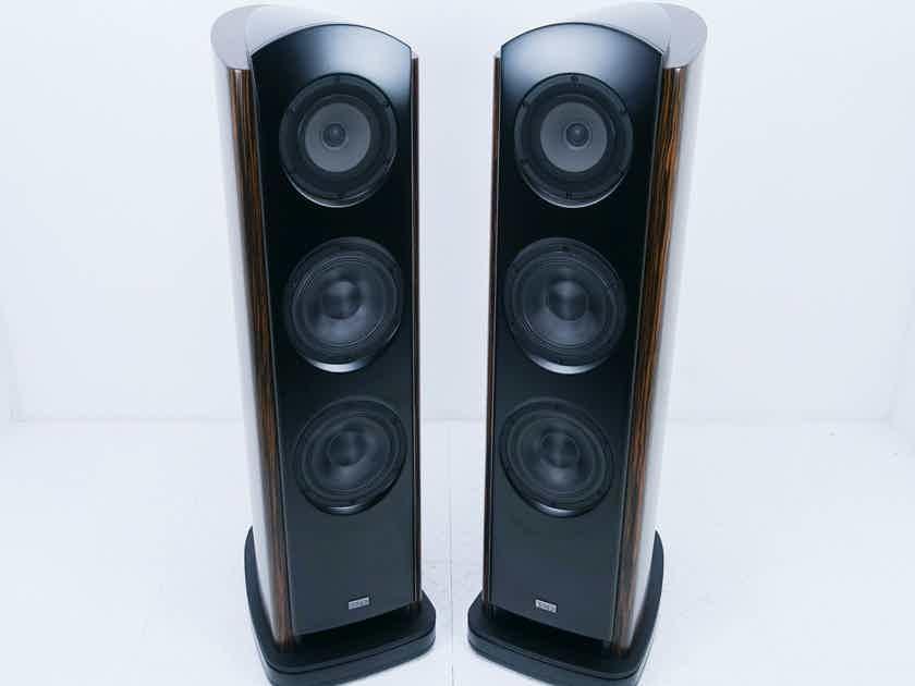 TAD Evolution One Floorstanding Speakers Wood Pair; TAD-E1-WN (14472)