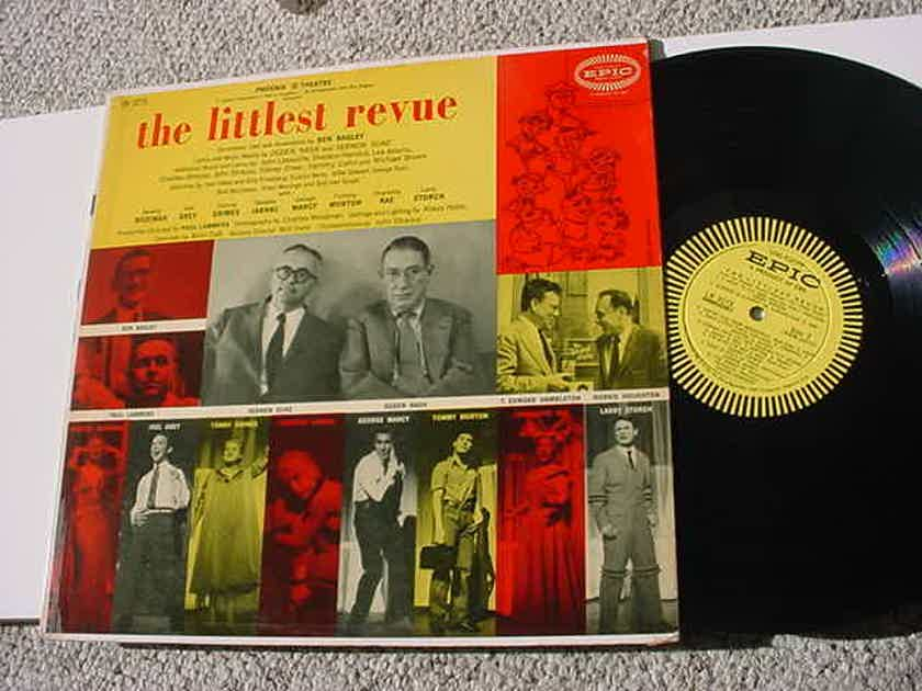 The Littlest Revue CAST LP Record - Beverly Bozeman Joel Grey Tammy Grimes George Marcy Larry Storch
