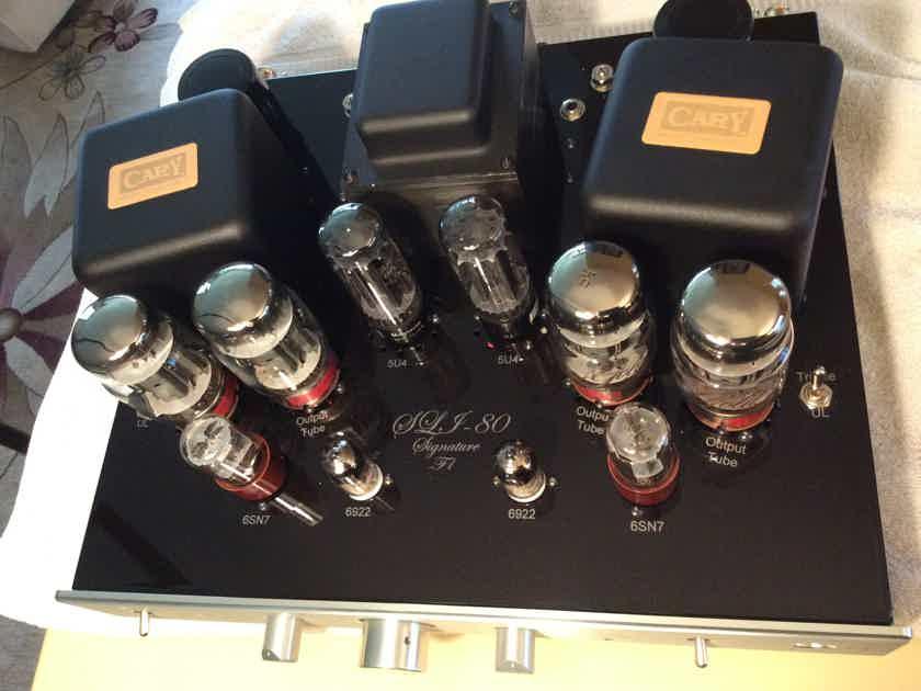 Cary Audio SLI-80 sig F1+ LOWER PRICE!!