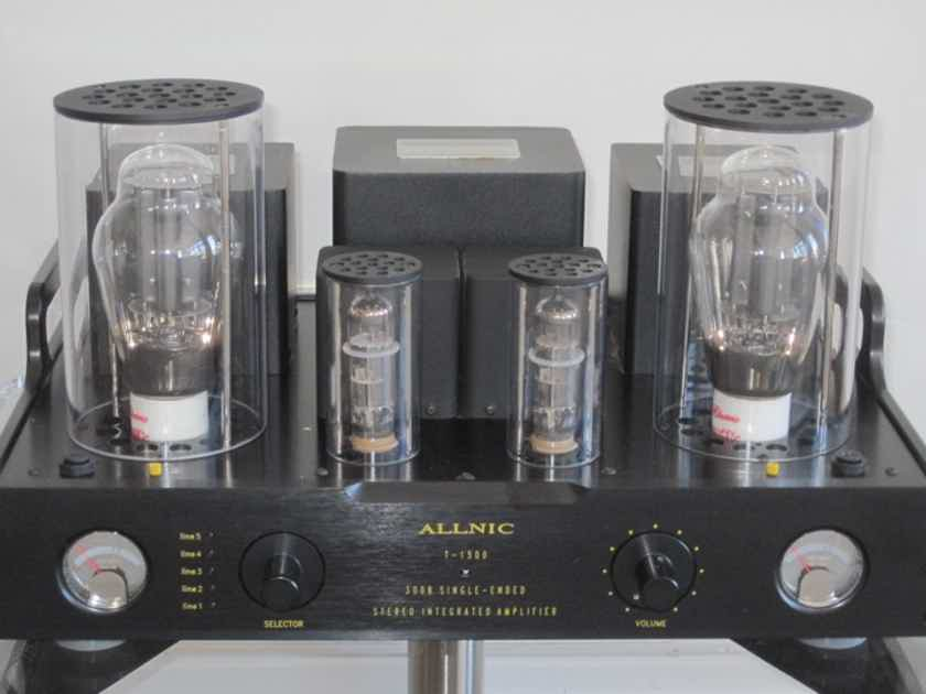 Allnic Audio T1500 Integrated 300B SET Amp - 12.5 Watt Output