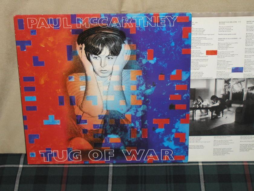 Paul McCartney - Tug Of War UK (English) Orig LP
