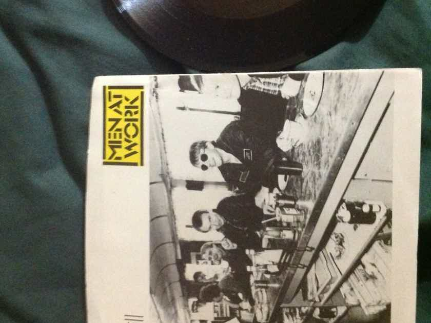 Men At  Work - Overkill Epic Records 45 Single With Picture Sleeve Vinyl NM