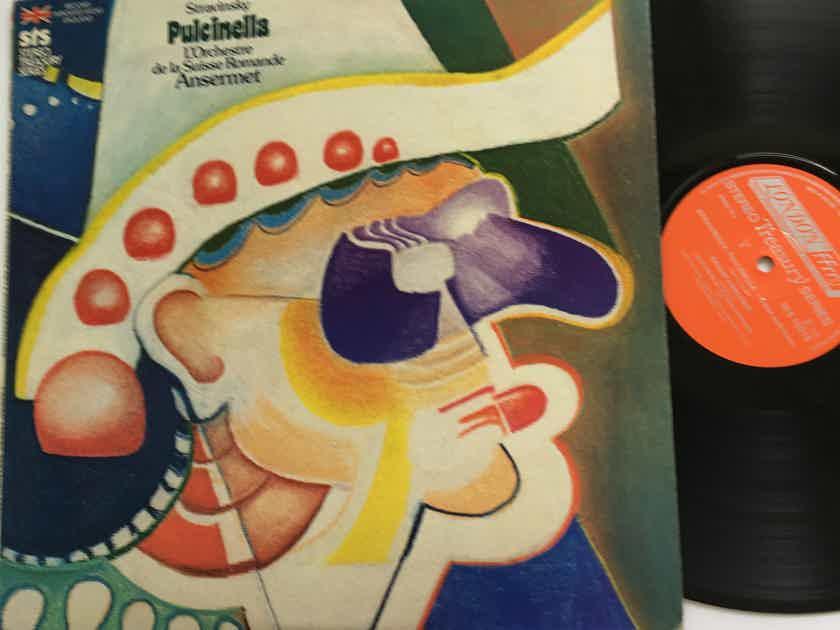 Stravinsky  Pulcinella L'Orchestre de la Suisse Romande Ansermet Lp record