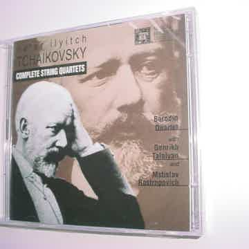 SEALED NEW DOUBLE CD Set Peter Ilyitch Tchaikovsky complete string quartets MHS 5264655