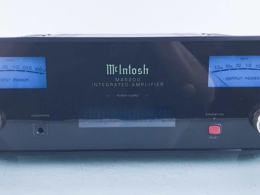 McIntosh MA5200 Stereo Integrated Amplifier MA-5200; MM Phono (16832)