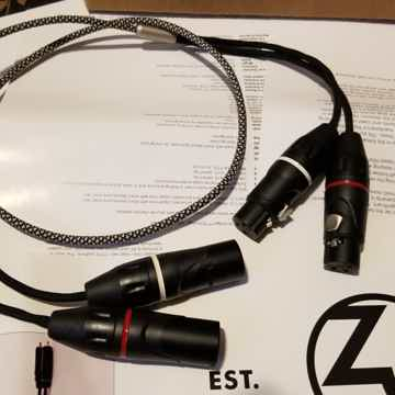 Mission XLR interconnects 1 meter - free shipping