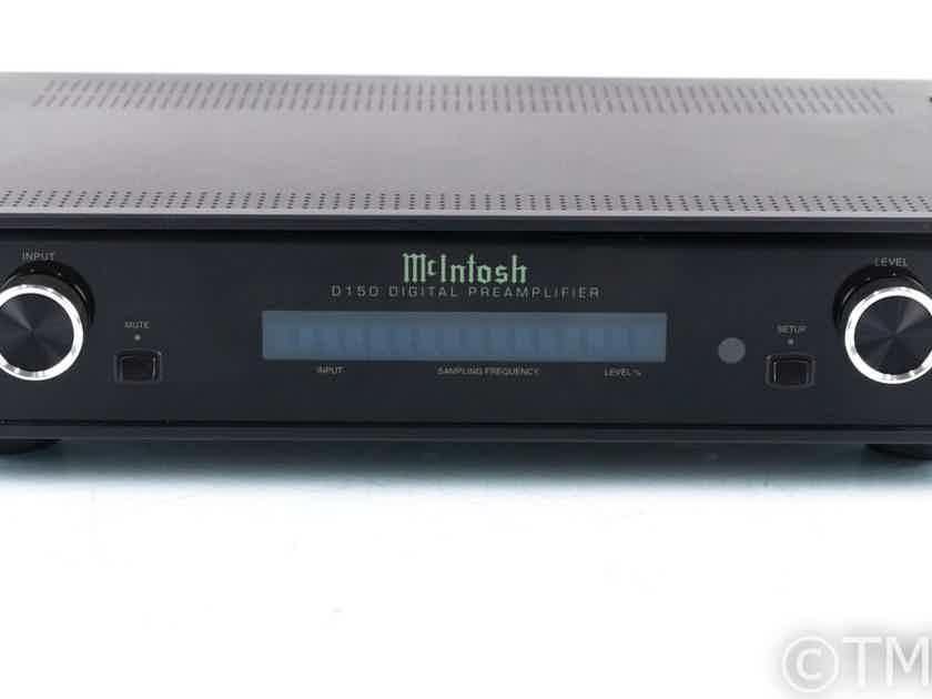 McIntosh D150 DAC / Digital Preamplifier; D-150; Remote; USB (21392)