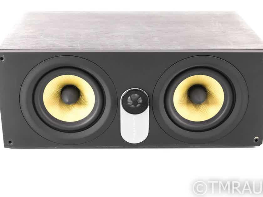 B&W HTM62 Center Channel Speaker; Black Ash; HTM-62 (25694)