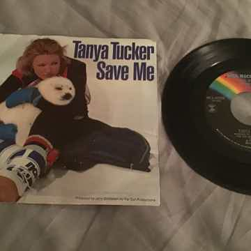 Tanya Tucker Save Me 45 With Picture Sleeve Vinyl NM