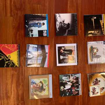 10 Audiophile Gold CD's or Hybrid SACD, 1970's Rock, Ma...
