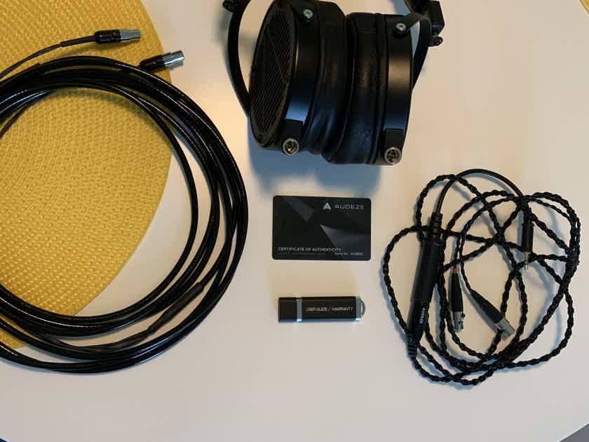 Audeze LCD-X/Moon-Audio Black Dragon upgrade cable (15')