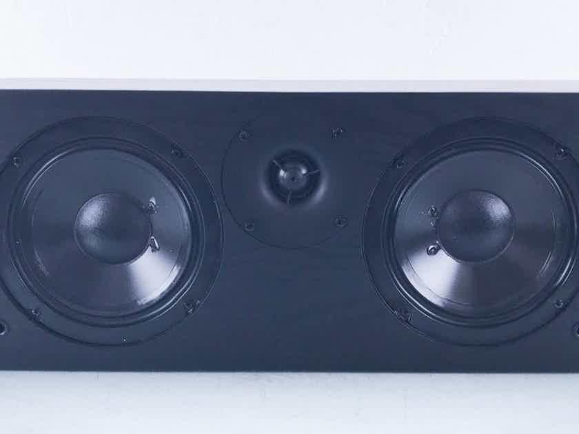 Solus SC-626 LCR / Center Channel Speaker Black Oak Vinyl; SC626 (Grill Pegs Broken) (13233)