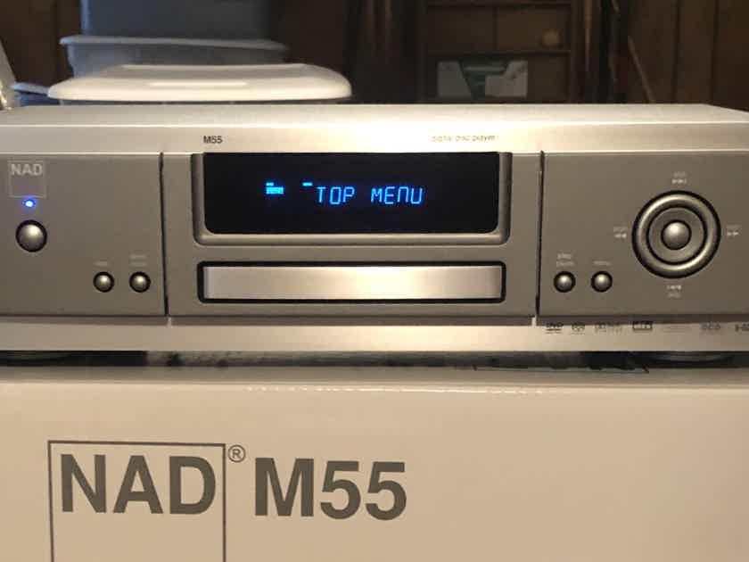 NAD M55 Masters Series Universal Disc Player DVD CD SACD DVD-Audio