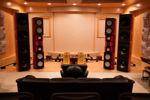massive, tall speakers make the room look small
