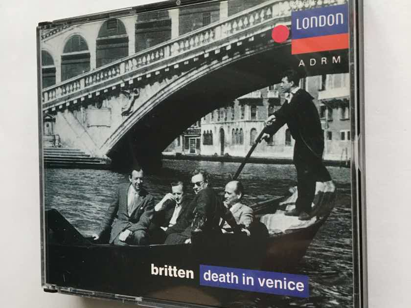 Britten Pears Shirley Quirk Bedford  Death in Venice Cd set London ADRM 1990