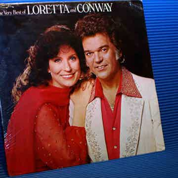 "LORETTA LYNN & CONWAY TWITTY   ""The Very Best Of Loretta & Conway -"