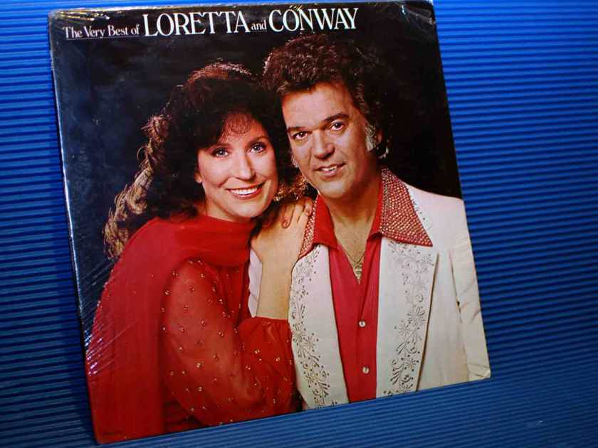 """LORETTA LYNN & CONWAY TWITTY   - """"The Very Best Of Loretta & Conway - MCA 1979 SEALED!"""
