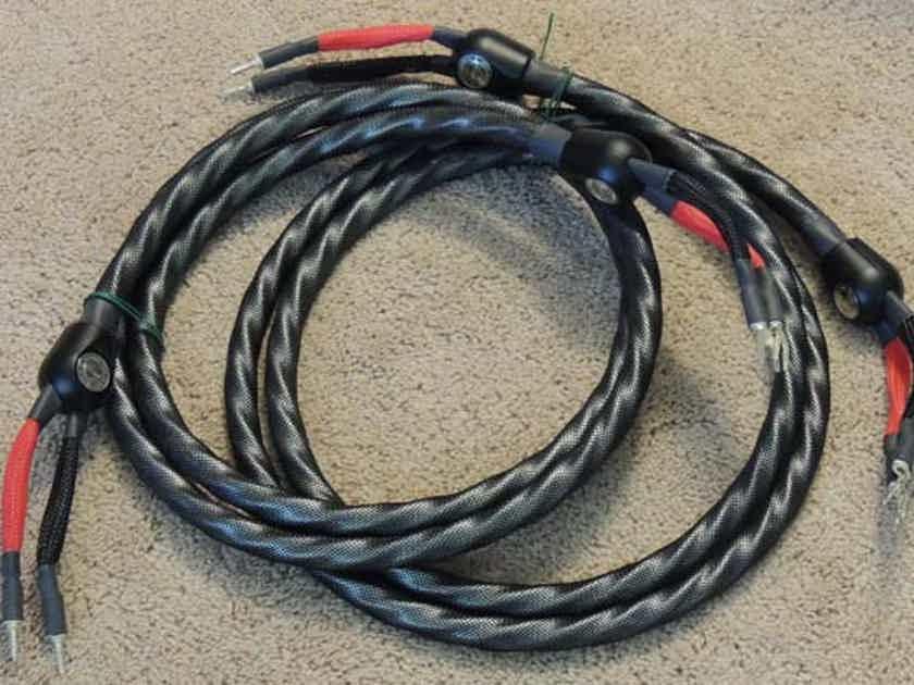 Wireworld Silver Eclipse 7 2.5m Speaker Cables, s-b, w/ Silver Clad Copper Conductors