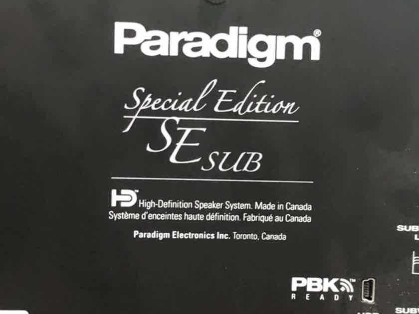 Paradigm Special Edition SE Sub