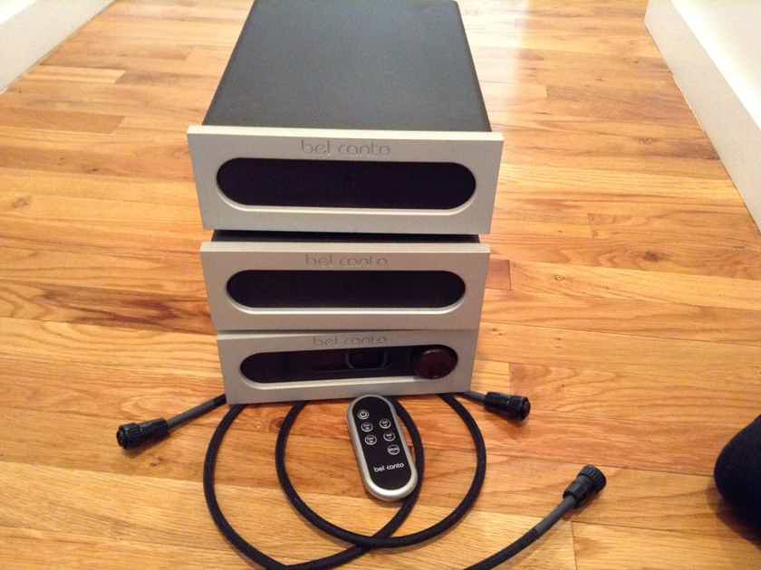 Bel Canto Design Phono 3 VB & VBS-1 Power Supply also the pre-3 preamp