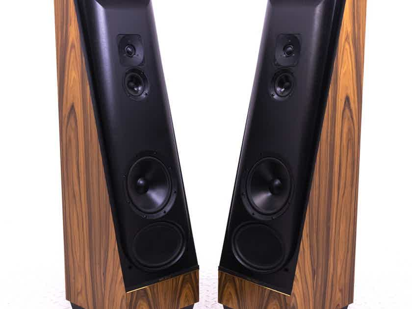 Thiel CS 2.2 Floorstanding Speakers; Amberwood Pair (19980)
