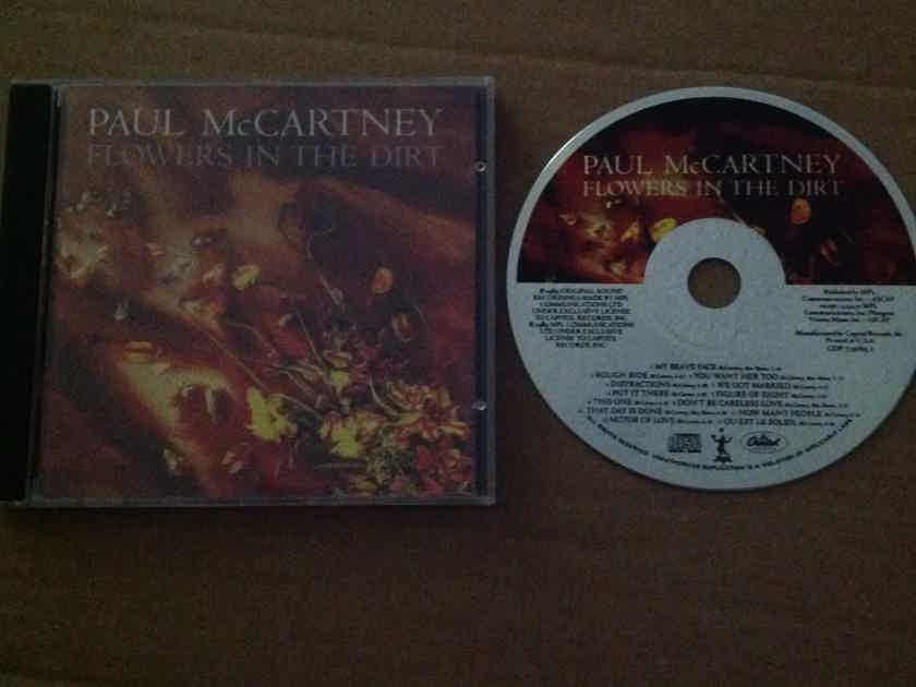 Paul McCartney - Flowers In The Dirt Not Remastered Capitol Record Compact Disc