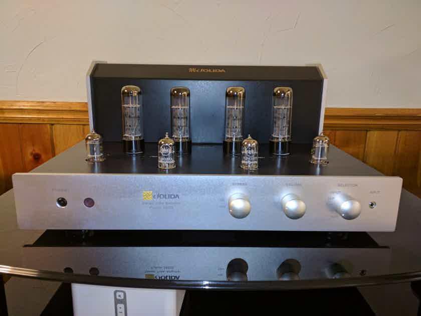 Jolida Fusion 3502S Integrated - Silver, Pristine!