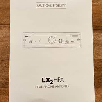 Musical Fidelity LX2 HPA Headphone Amp