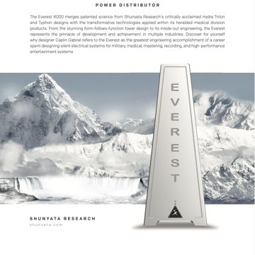 Shunyata Everest 8000