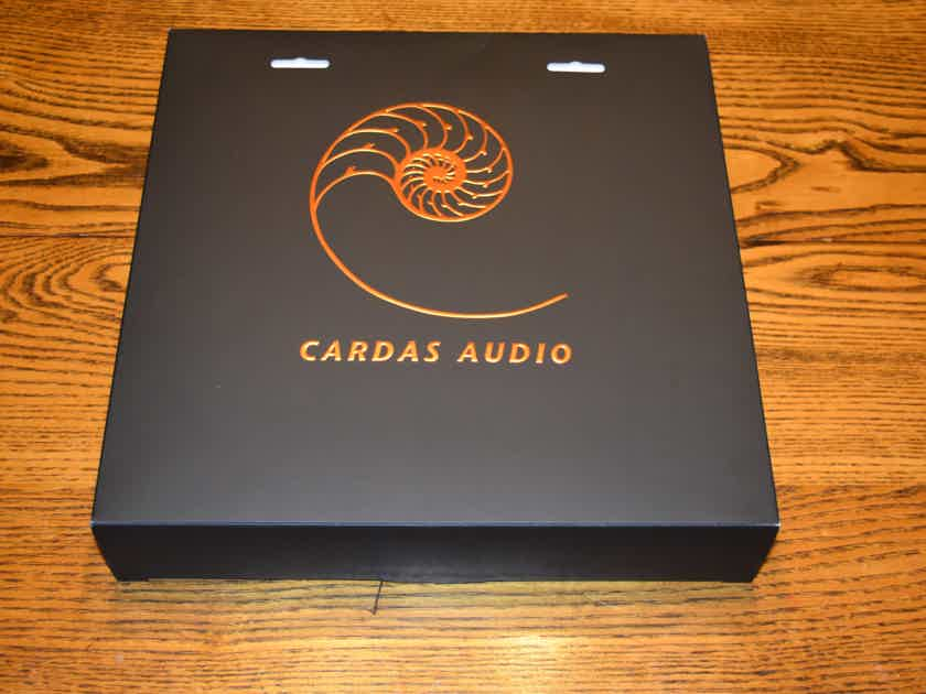 Cardas Audio Clear 1.0 meter stereo pair interconnects RCAs