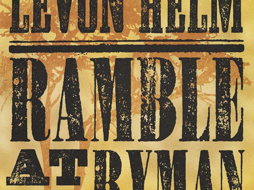Levon Hlem Ramble At The Ryman 2 180 gram LPs Out of Print