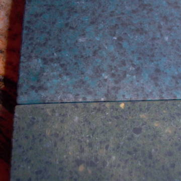 performance acrylic looks like granite, blue for linn(4) and green for naim(4).also available