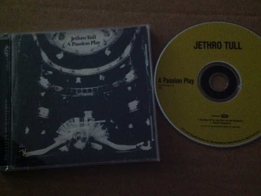 Jethro Tull - A Passion Play Chrysalis Records Enhanced Compact Disc With Video