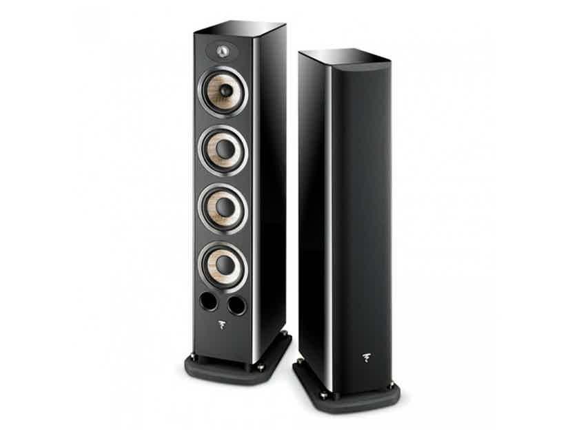 Focal Aria 936 Floorstanding Speakers (Gloss Black): MINT Demo; Full Warranty; 35% Off