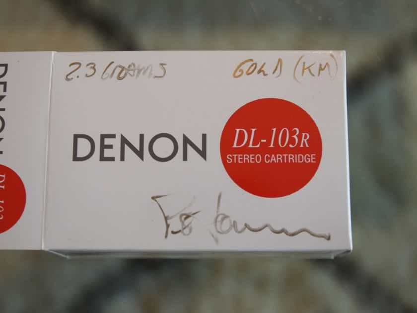 Denon DL-103R - Soundsmith Modded - Highest Gold Level - Absolute Mint