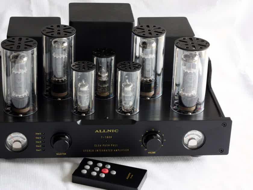 Allnic Audio T1800 Superb EL34 40WPC Integrated